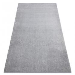 Moderný prateľný koberec LATIO 71351060 striebro