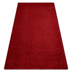 Dywan do prania MOOD 71151011 nowoczesny - czerwony