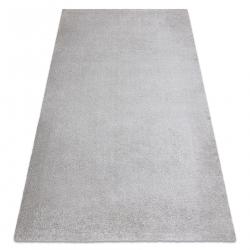 Dywan do prania MOOD 71151600 nowoczesny - srebrny