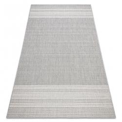 Tapis SIZAL FLAT 48829637 chevrons gris