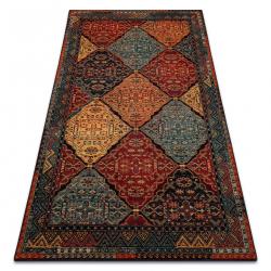 POLONIA gyapjú szőnyeg Astoria keleti, etnikai rubin