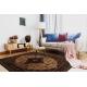 Wool carpet SUPERIOR PIENA Rosette ruby