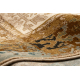 Wool carpet OMEGA LUMENA ethnic, vintage camel