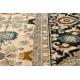 Tapete de lã OMEGA PARILLO Quadro jadeit castanho