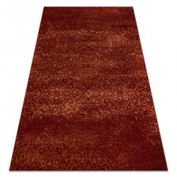 Wool carpet KASHQAI 4341 300 ornament, vintage claret