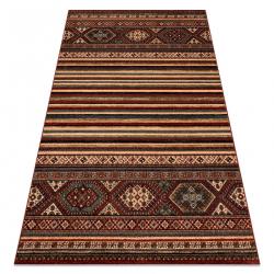 KASHQAI 4356 300 gyapjú szőnyeg etnikai bordó