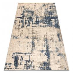 Carpet Wool NAIN vintage 7005/50955 beige / navy
