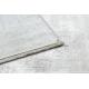 Dywan TULS nowoczesny, strukturalny, frędzle 51231 Vintage, przecierany kość słoniowa / szary