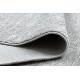 Dywan TULS nowoczesny, strukturalny, frędzle 51248 szary