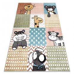 Carpet FUN Pets for children, animals colorful multi
