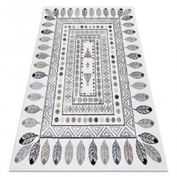 Carpet FUN Teepee for children, Indian, frame cream
