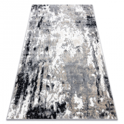 Килим POLI 7569A Абстракція сірий
