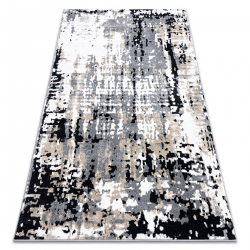 Koberec POLI 8820A Abstrakcia sivá / béžový