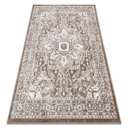 Carpet POLI 8757A Ornament brown