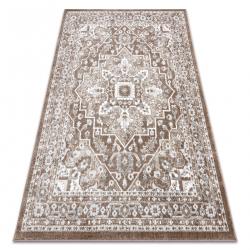 Teppich POLI 8757A Ornament braun