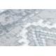 Tappeto ARGENTO - W4029 Boho grigio