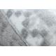 Koberec ARGENT - W4029 Boho šedá