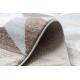 Dywan ARGENT - W6096 Trójkąty beżowy / szary