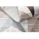 Koberec ARGENT - W6096 trojúhelníky béžový / šedá