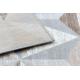 Tappeto ARGENTO - W6096 Triangoli beige / gris