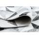 Teppich ARGENT - W6096 Dreiecke grau / schwarz