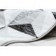 Килим ARGENT - W6096 трикутники сірий / білий