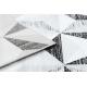 Koberec ARGENT - W6096 trojúhelníky šedá / černý