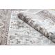 Carpet ARGENT - W7039 Flowers beige / grey