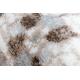 Килим ARGENT - W7039 квіти бежевий / сірий