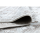 Koberec ARGENT - W7040 Rám, vintage šedá / béžový