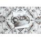 Килим ARGENT - W7040 каркас, vintage сірий / бежевий