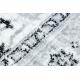 Teppich ARGENT - W7040 Rahmen, vintage grau / schwarz