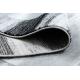 Dywan ARGENT - W9557 Ramka, vintage, linie szary