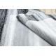 Koberec ARGENT - W9557 Rám, vintage, řádky šedá
