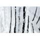Dywan ARGENT - W9563 Linie biały / szary