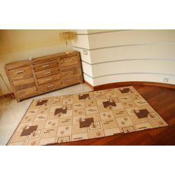 Carpet - wall-to-wall POLKA brown