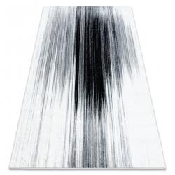 Teppich ARGENT - W9571 Abstraktion weiß / grau