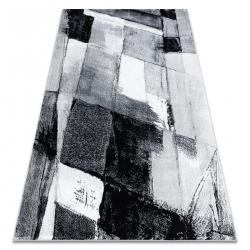 Килим ARGENT – W9576 абстракция сив