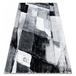 Ковер ARGENT - W9576 абстракция серый