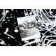 Dywan ARGENT - W9565 Abstrakcja czarny / szary