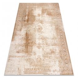 Carpet Wool NAIN Ornament, frame, vintage 7699/51955 beige