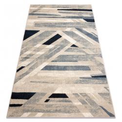 Carpet Wool NAIN Geometric 7706/51955 beige / blue
