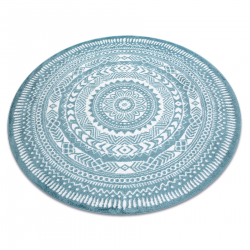Szőnyeg FUN Napkin szalvéta kör - kék