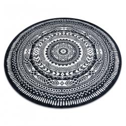 Ковёр FUN Napkin салфетка круг - черный