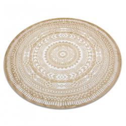 Килим FUN Napkin салфетка кръг - злато