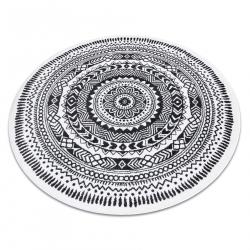 Carpet FUN Napkin circle - grey