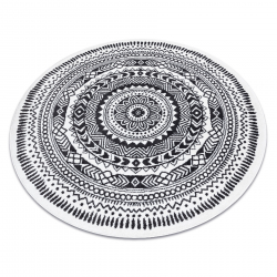 Ковёр FUN Napkin салфетка круг - серый