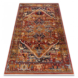 Carpet Wool KESHAN fringe, Ornament oriental 2886/53588 claret