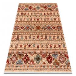 Teppich Wolle KESHAN Franse, orientalisch 7684/53555 beige / terrakotta
