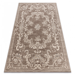 Carpet Wool NAIN Ornament, frame 7694/51922 beige / brown